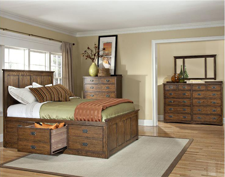 Oak Park Bedroom Set